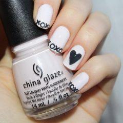 xoxo nail art