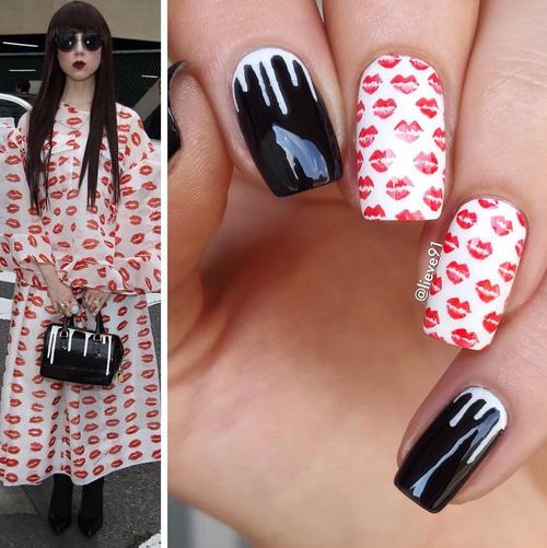 Kiss Nail Design