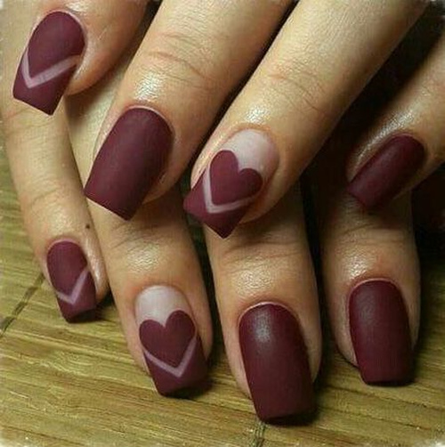red-matte-heart-nails