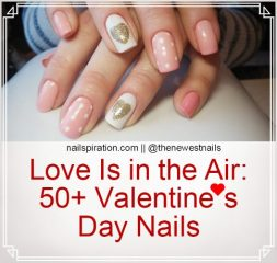50+ valentines day nails