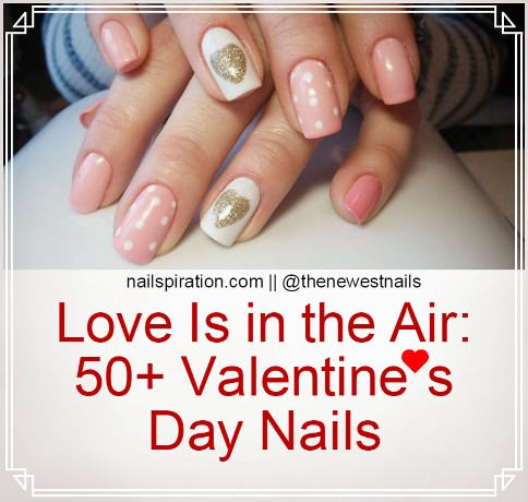 56 valentines day nails for 2018 nailspiration 50 valentines day nails solutioingenieria Choice Image