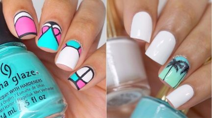 Perfect Summer Nails: 38 Top Vacation Nail Design Ideas for 2018