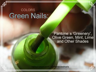 Green Nails: Fresh Designs and Nail Art Ideas