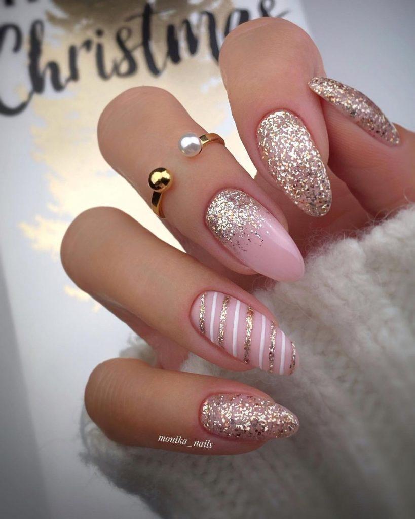 Pink Unicorn Nail Designs