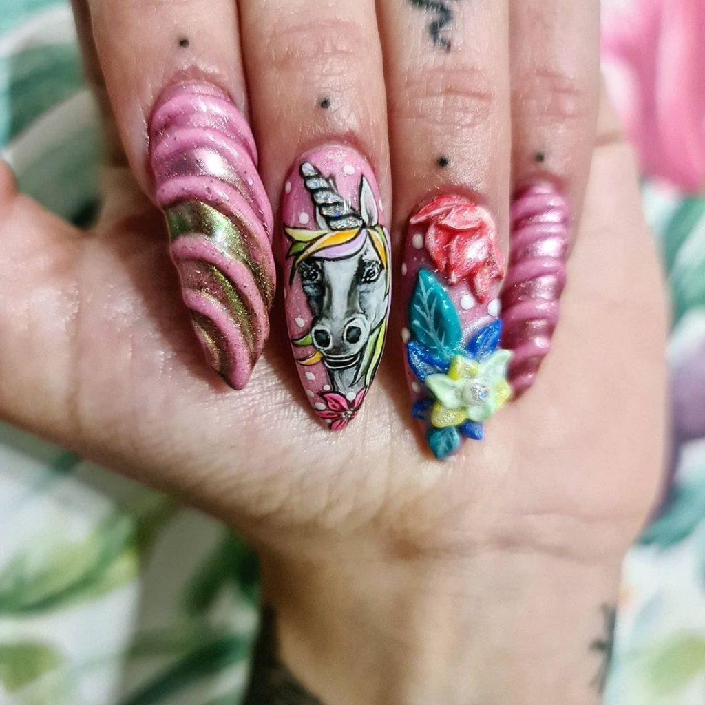 Top Unicorn Nail Designs