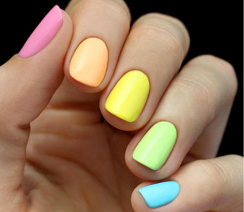 colorful-rainbow-easter-nails