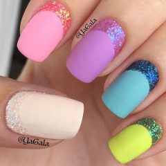 easter-nails-with-glitter