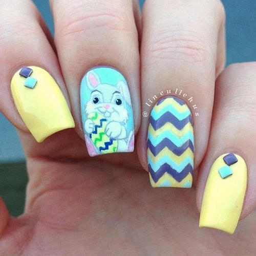 bright-easter-nails