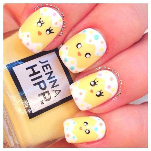 easter-nail-art-with-chickens