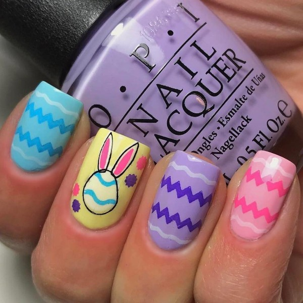 colorful-manicure-for-easter-with-bunny-ears