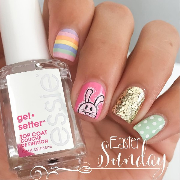 easter-nail-art-with-bunny