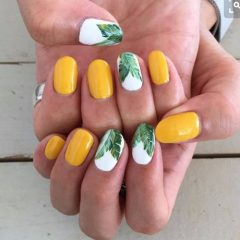 leaves-nail-design