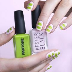white-and-green-nails-for-summer-season