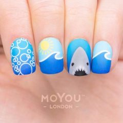 summer-nails-with-bubbles-sun-and-shark