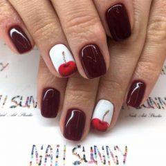 summer-cherry-nails