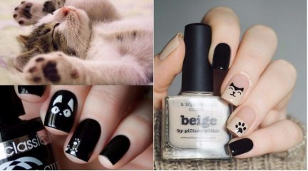 Cute Cat Nail Art: 45 Cat Nail Designs You Will Fall in Love With