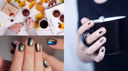 fall nail colors and trends