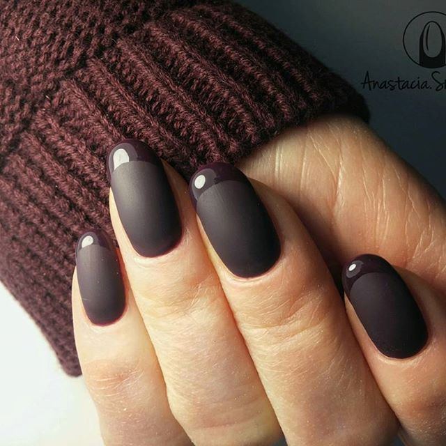 Best Wine Colored Nails of 2018 | Nailspiration.com