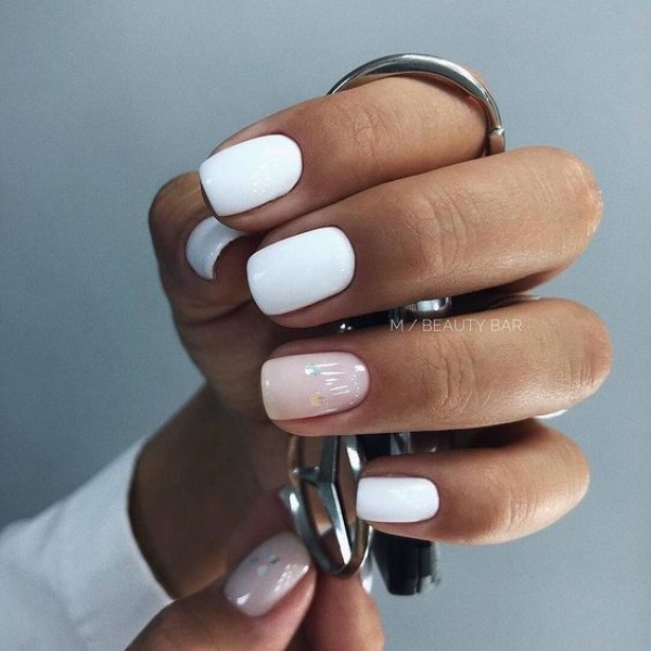 white and camouflage nude sweater weather nails