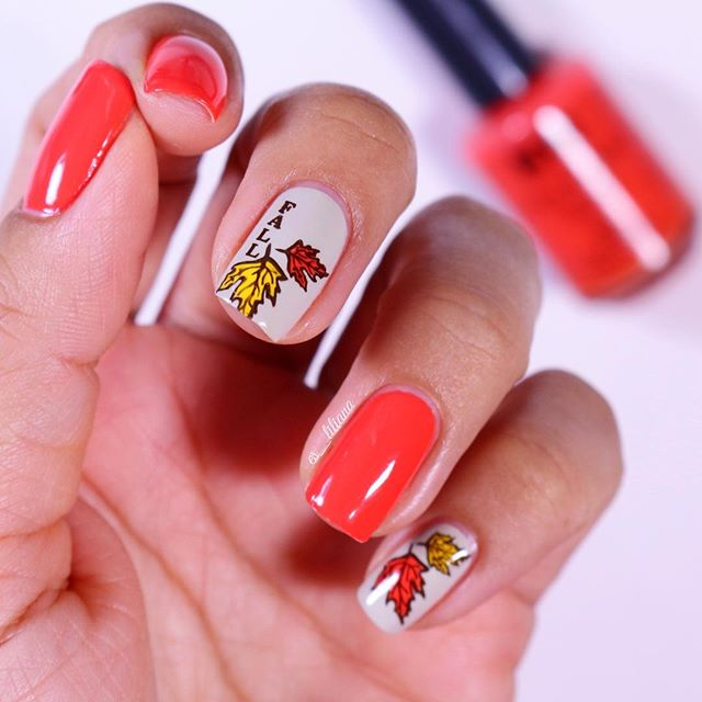 coral-fall-nail-design-with-leaves-es_liliana