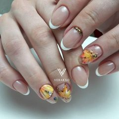 fall-leaf-french-manicure-verakso_nail