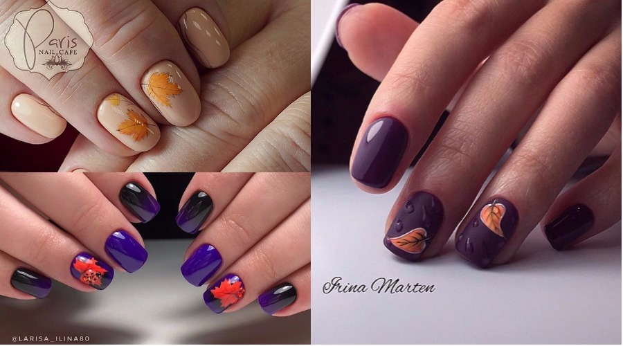 Fall Autumn Leaves Nail Art 2018 Nailspiration