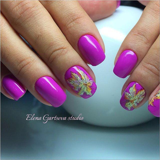 fuchsia-fall-leaf-nail-art-elena_gartseva_studio