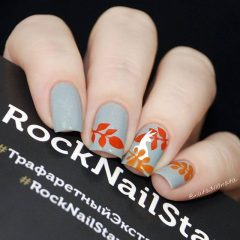 gray-and-orange0autumn-leaves-nail-design-nata3110nata 2