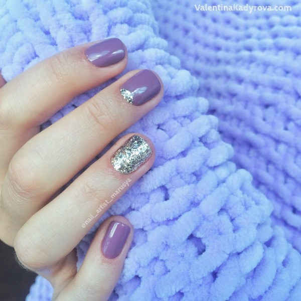 short sweater weather nails