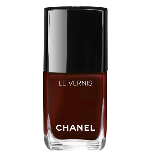Chanel Roige Noir Wine Red nail polish