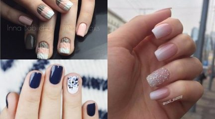 60 Trendy Sweater Weather Nails Designs and Best Nail Polishes