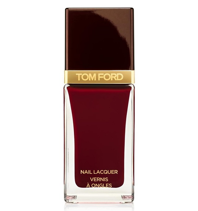 tom ford BORDEAUX LUST wine red nail lacquer