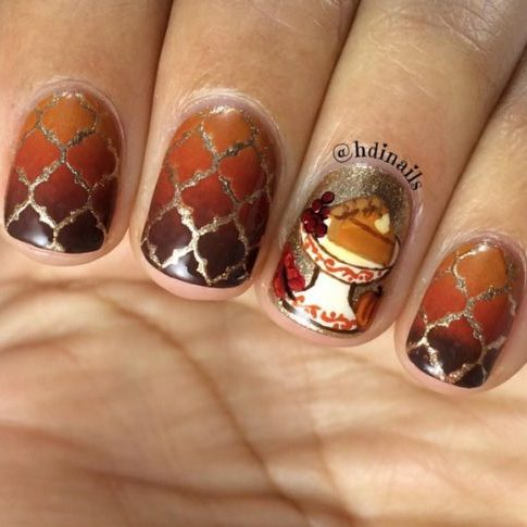 21 Thanksgiving Nail Designs From Tumblr