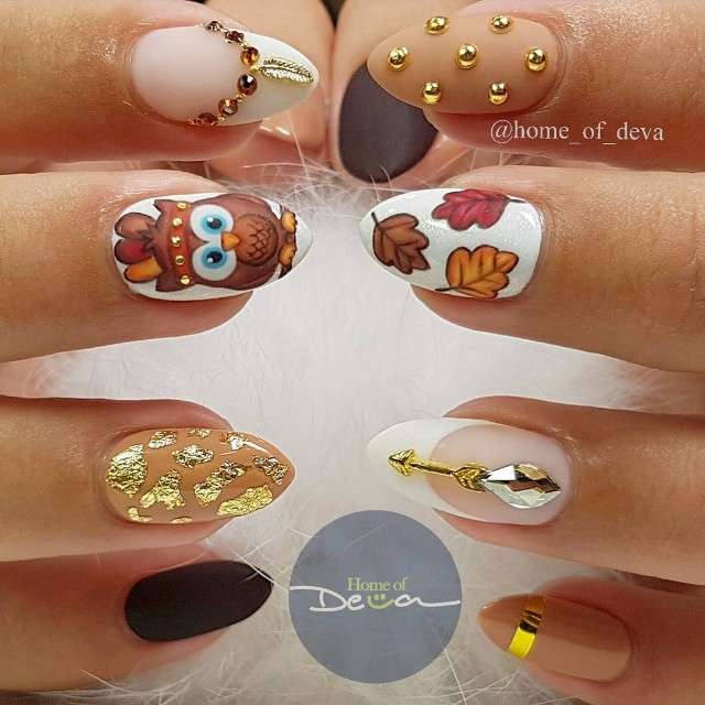 cool-thanksgiving-nail-designs