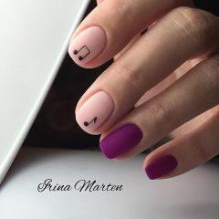 violet-and-beige-matte-HYGGE-nails