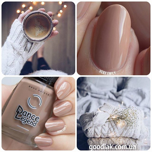 HYGGE photo of caramel toned nails