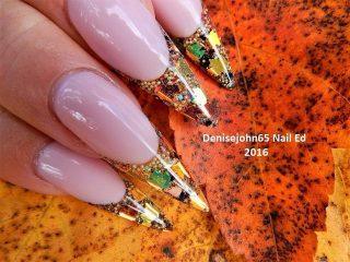 long-cute-thanksgiving-nails