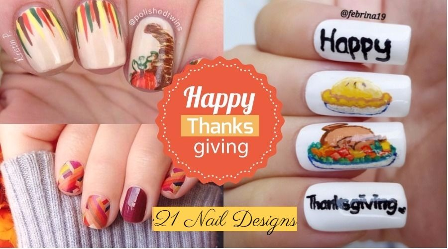 21 Thanksgiving Nail Designs From Tumblr Nailspiration