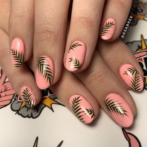 chella-nail-design-with-leaves