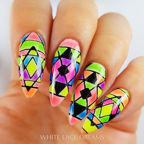 colorful-long-coachella-nails