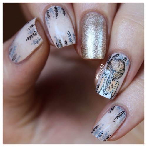 cute-coachella-nail-design