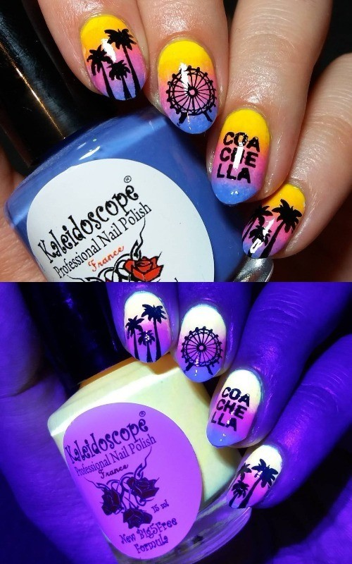 glow-in-the-dark-coachella-nail-design-with-wheel