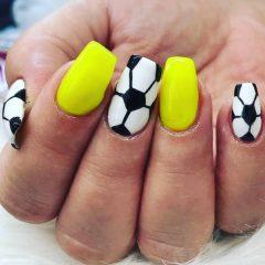 football-nail-design