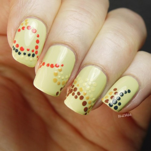 quick-nail-design-for-coachella-with-dots
