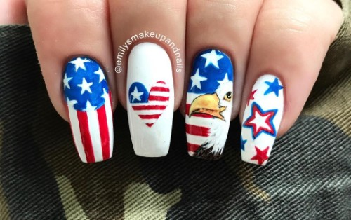 bald-eagle-nail-design-4th-of-july