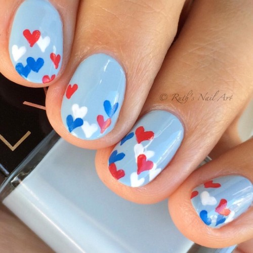 blue-patriotic-nail-design