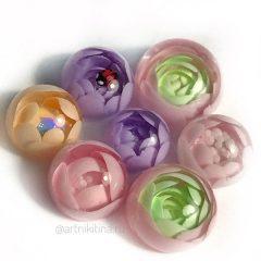 flower candy ball