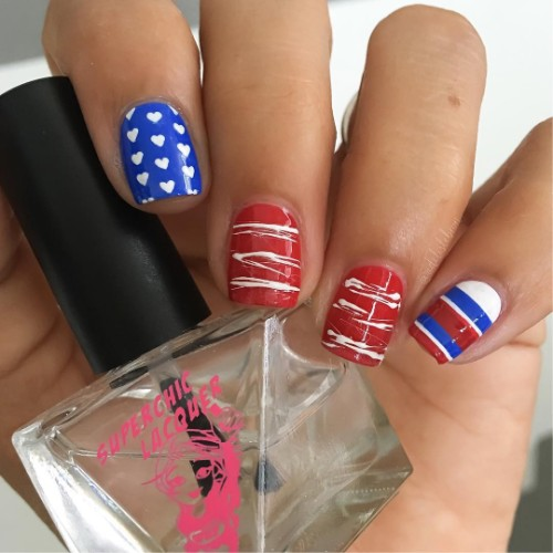 independence-day-nail-design