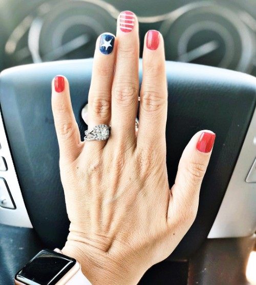 80 Patriotic 4th Of July Nails For Independence Day 2018