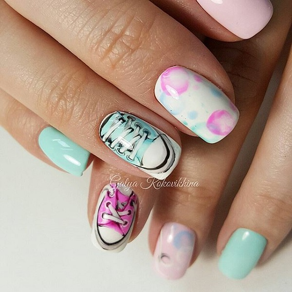 sneakers-nail-design